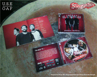 Blingsatan  BERBEDA MERDEKA cd packaging by Yusuf-Graphicoholic