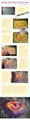 Colorful Eye Color Tutorial by Eye-X-catcher