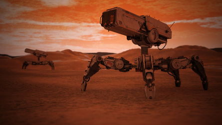 Planetary Recon Defense System by LucidityCubed