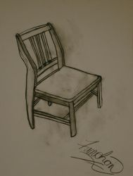 Wooden Chair by FanFrye24