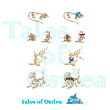 Tales of Ostlea: Skeletons by RhynnCollins
