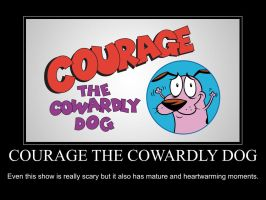 Courage The Cowardly Dog Motivation by FireMaster92