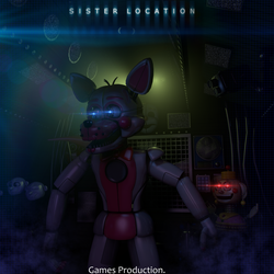 FNAF SL Map  - Primary Control Module (4K) by GamesProduction