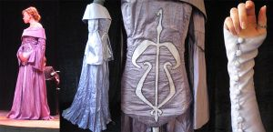 Purple Packing Gown Concept 2 by Verdaera
