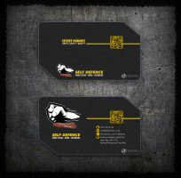 Self Defence Business Card Design by MAEDesign