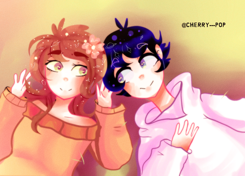 me and you .:AT:. by Cherry---Pop