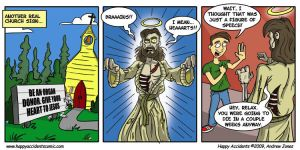 Comic: Zombie Jesus Day by AtlantaJones