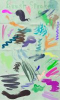 Brush Stroke Brushes by Joolster