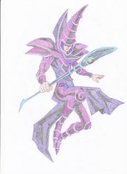 dark magician by blackreaper-dusk