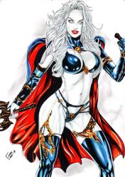 Lady Death by Franklima