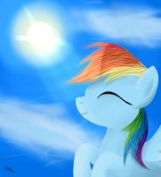 Rainbow Dash - Inspiration by ColonelWalther