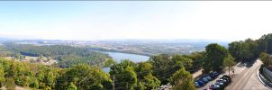 Lookout Mountain Pano by bubzphoto