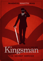 Kingsman Poster 2 by Eaglesg