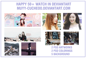 PACK SHARE 50+ WATCH BY MUYY-CUCHEOO by muyy-cucheoo