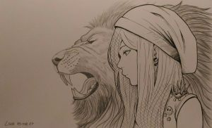 Do you see the Lion when you look inside of me? by Lion979