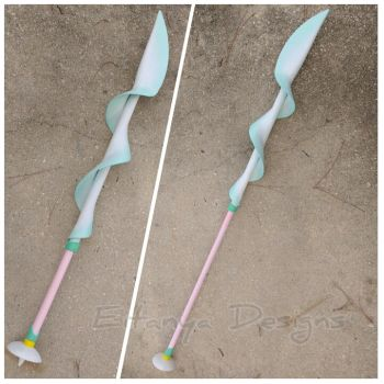 Pearl's Spear from Steven Universe - cosplay prop by eitanya