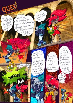 Quest Beginnings Page1 by BubbleDriver