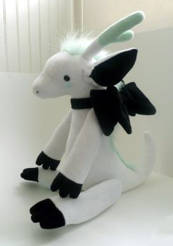 jointed dragon plush pattern by gurliebot