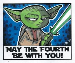May the 4th be with you! by briandeguireart