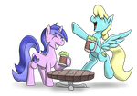 Cider with Sea Swirl n Sassaflash by timsplosion