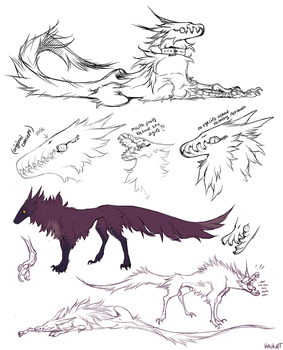 PND Sketch Page by Hauket