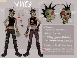 VINCE CHARACTER REF SHEET by GLIBRIBS