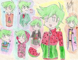 Watermelon Clothes~ by ChibiAndyChan