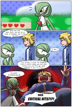Commission: Pokemon Amie Jokes 1 by funakounasoul