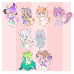 Chibi Adopts - [$6 EACH][6/8 open] by NellyCS