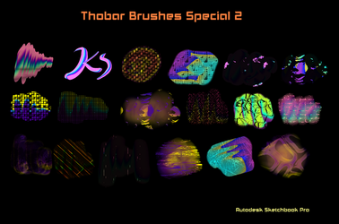 Thobar Brushes Special 2 Sketchbook Pro by KarenStraight