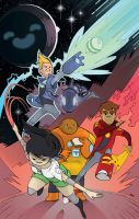 Bravest Warriors #10 by JoeEngland