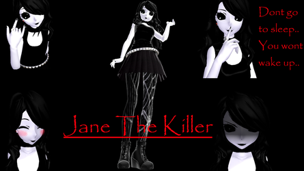 Jane The Killer [MMD] by VLJ4747