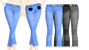 MMD PK Distressed Jeans DL by 2234083174