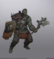 Orc Spellforce3 by Verehin