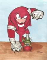 Shoulders the Echidna by Fischotterchen