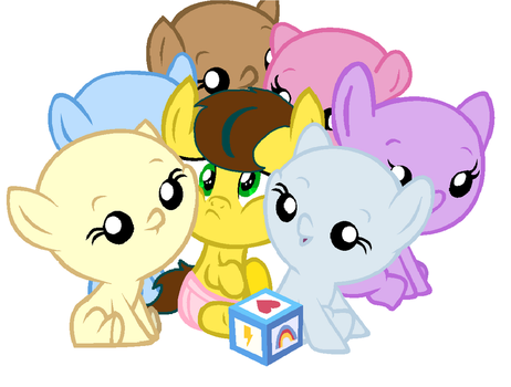 Baby Playtime Fun with Topaz!  [Open collab] by iLoveCreativity14