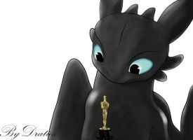 Toothless Take The Oscar Paint by KallusPony
