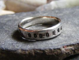 Goddess Ring by MoonLitCreations