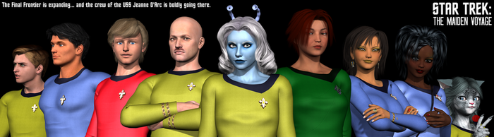 STAR TREK: The Maiden Voyage Group Photo by Sailmaster-Seion