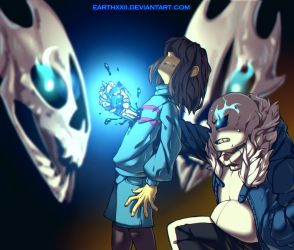 [ Undertale ] the genocide by EarthXXII