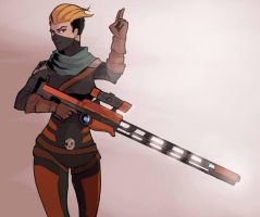 Cutthroat Kinessa by HolyVarus