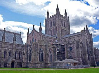 Hereford Cathedral by Irondoors