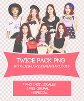 Pack PNG Twice by Upwishcolorssx