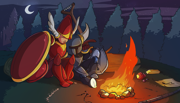 Shovel Knight Tribute by Pehesse
