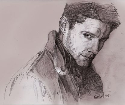 Jensen Ackles second try by kumitawapa