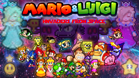 Mario and Luigi Invaders from Space (Part 5) by SuperShadeMario
