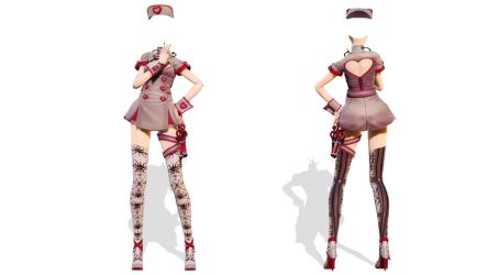 Model DL - TDA Nurse Base by elina002