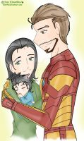 Frostiron Family example by neniths