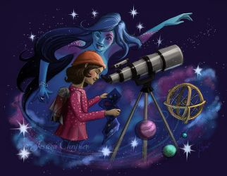 Muse of Astronomy by jesschrysler