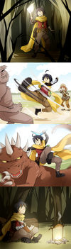 The adventures of Reize by meago